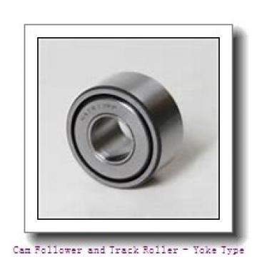 INA LR201-RR-U  Cam Follower and Track Roller - Yoke Type