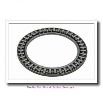 2.125 Inch   53.975 Millimeter x 3.25 Inch   82.55 Millimeter x 1.75 Inch   44.45 Millimeter  MCGILL GR 40 SS/MI 34 Needle Non Thrust Roller Bearings