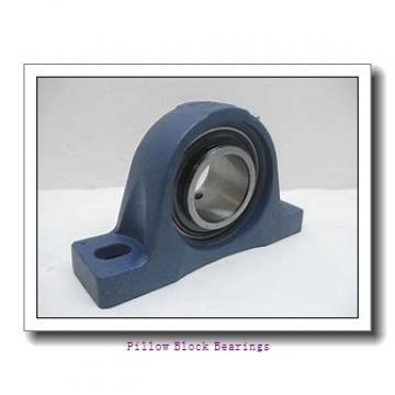 3.438 Inch | 87.325 Millimeter x 2.484 Inch | 63.1 Millimeter x 4 Inch | 101.6 Millimeter  DODGE P2B-SCM-307  Pillow Block Bearings