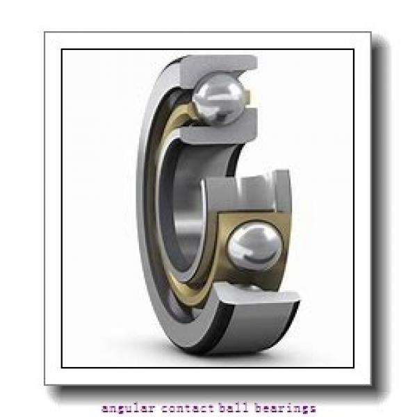 0.984 Inch   25 Millimeter x 2.047 Inch   52 Millimeter x 0.811 Inch   20.6 Millimeter  SKF 5205MZZ  Angular Contact Ball Bearings #1 image